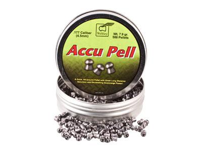 Webley Accu Pell Pellets, .177 Cal, 7.9 Grains, Domed, 500ct