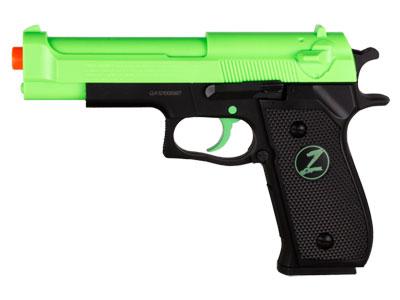 Crosman Z30 Zombie ReZponder Spring Airsoft Pistol
