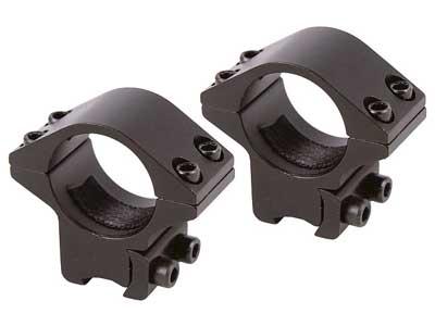 "Air Venturi 1"" Tactical Rings, Medium, 3/8"" Dovetail, 4 Screws/Cap"