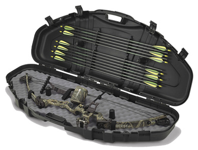 "Plano 43"" Bow Case, Arrow Storage, Lockable, Airline-Approved, Black"