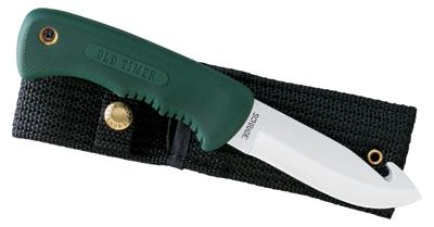 Schrade Old Timer Blade Runner Knife, Fixed, Plain, Gut Hook