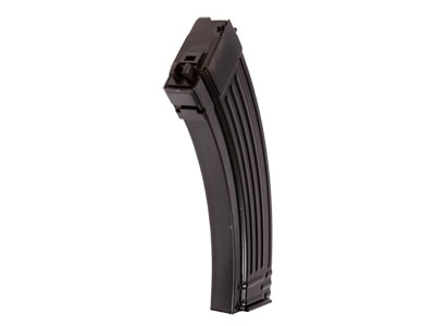 WE Gas Blowback Airsoft Rifle Magazine, Fits WE AK74 PMC Gas Blowback Airsoft Rifles, 30 Rds