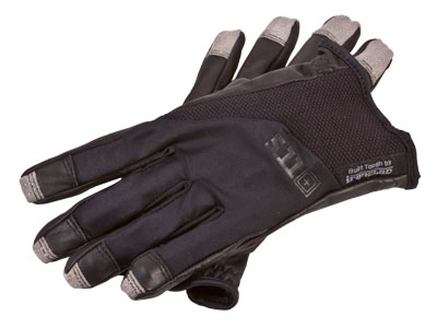5.11 Tactical Screen Ops Patrol Gloves, Black, Large