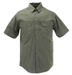 5.11 Tactical TacLite Pro Short Sleeve Shirt, Green, Large