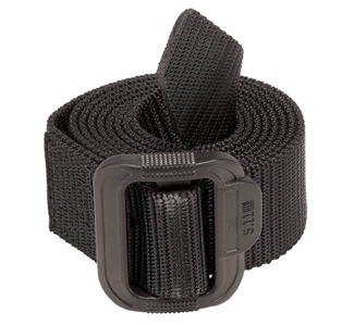 "5.11 Tactical TDU 1.75"" Belt, Plastic Buckle, Large, Black"