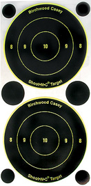 "3"" Round Bullseye Shoot-N-C Targets (15)"