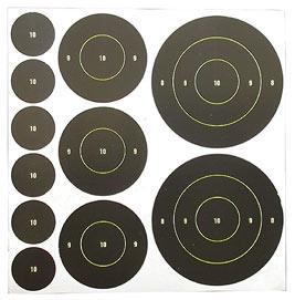 Birchwood Casey Shoot-N-C Bullseye Assortment Pack, 110ct