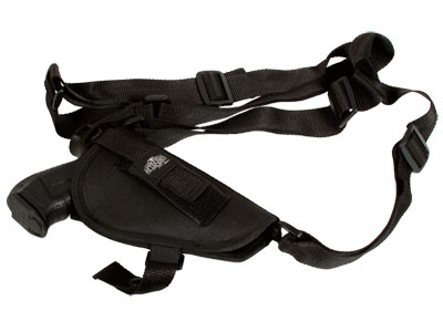 Aftermath SOCOM Shoulder Holster, Nylon, Black