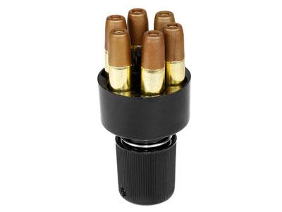 Dan Wesson & S&W 327 TRR8 Speedloader, .177 Cal BB Revolver Shells, 6 Shells