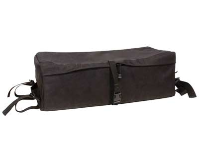 "Air Venturi ATV Front Rack Bag, Padded, Black, 9""x12""x24"""