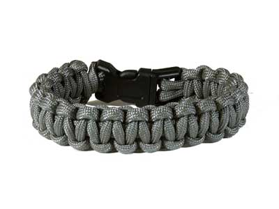 Air Venturi Paracord Bracelet, Large, Foliage Green