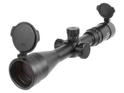 Aeon 8-32x50 AO Classic Rifle Scope, Field Target Reticle, 1/4 MOA, 30mm Tube