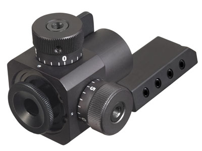 AirForce Adaptive Rear Target Sight, Fits Most 10-Meter 3-Position Rifles & All AirForce Guns