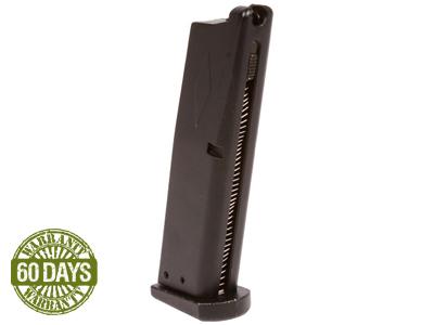 Beretta 92 Airsoft Gas Blowback Pistol Magazine, 23 Rds