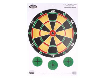 "Birchwood Casey Dirty Bird Shotboard Game Target, 12""x18"", 8ct"