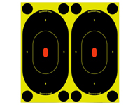 "Image of ""Birchwood Casey Shoot-N-C Targets, 7"""" Silhouette, 12 Targets + 48 Pasters"""