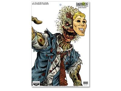 "Birchwood Casey Zombie Darkotic Fine Print Splattering Target, 12""x18"", 8ct"
