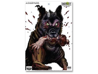 "Birchwood Casey Zombie Dog Darkotic Go Fetch Splattering Target, 12""x18"", 8ct"