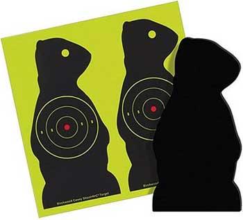 "Birchwood Casey Sharpshooter Corrugated Plastic Prairie Chuck Targets, 7.5"", 3"" Bullseye, 6ct"