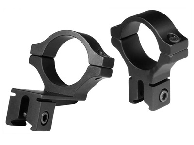 "BKL 30mm Rings, 3/8"" or 11mm Dovetail, Offset, Black"