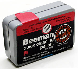 Beeman Quick Cleaning.