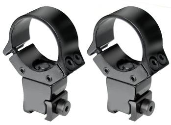 "B-Square 10037 1"" Interlock Adjustable Rings, High, 11mm Dovetail"