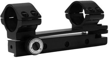 "BSA 1-pc Mount w/1"" Rings, 11mm Dovetail. Adjust a scope without taking it out of the rings!"