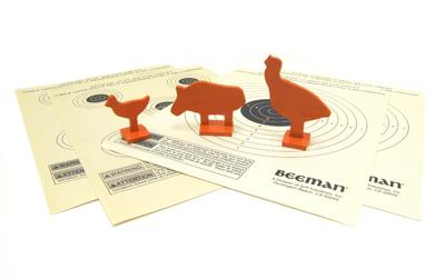 Beeman 3 Metallic Silhouettes & 4 Paper Targets