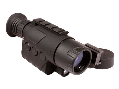 Bering Optics eXact Precision 2.6x44 Night Vision Monocular, Integral Weaver Mount