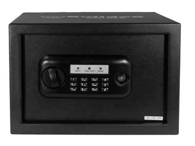 "Bulldog Standard Digital Pistol Vault, 10""x13.5""x10"", Black"