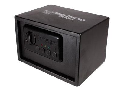 "Bulldog Magnum Series Digital Vault, Manual Open, Black, 7.25""x11""x8"""