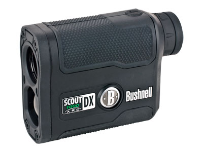 Bushnell Scout 6x21 DX 1000 ARC Laser Rangefinder, 5-1,000 Yards, Waterproof, Rubber-Armored