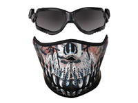Crosman Elite ForceFlex Goggles & Half Predator Mask PY-A-4964