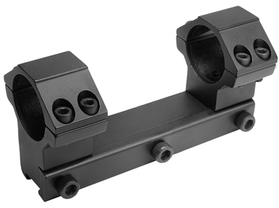 "CenterPoint 1-Pc Mount, 1"" Rings, High, 3/8"" Dovetail, 4 Screws/Cap"