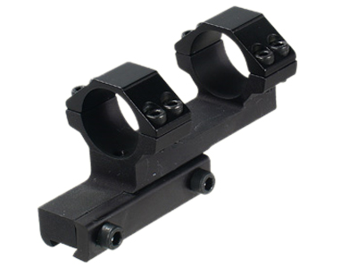 """CenterPoint 1-Pc Off-Set Mount, 1"""" Rings, High, 3/8"""" Dovetail, 4 Screws/Cap"""