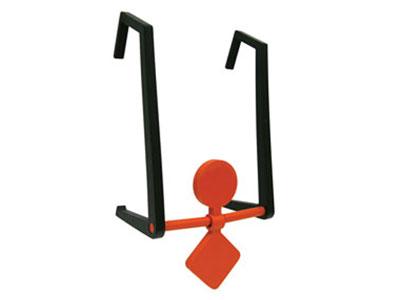Champion Double Hanging Spinner Target, DuraSeal Self-Sealing Material, Orange