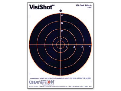 Champion VisiShot Paper.