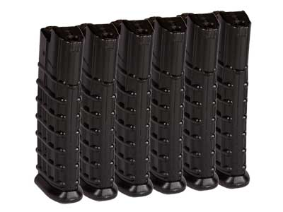 Classic Army Airsoft Rifle Magazines, Fits Steyr AUG Airsoft Rifles, 330 Rds, 6ct