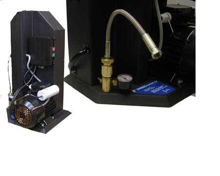 Liquid-Cooled Air Compressor.