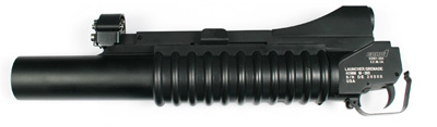 ECHO 1 Long M203 Airsoft Grenade Launcher, M4/M16 Series