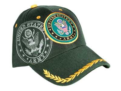 Tactical Crusader Fully Licensed Army Cap, Green
