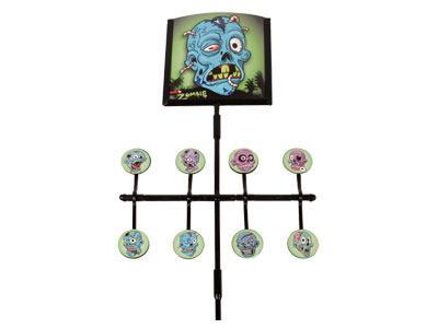 Gamo Deluxe Zombie Spinner Airgun Target, Incl. Stickers & Paper Targets