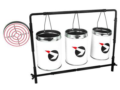 Gamo Plinking Can & Bullseye Target