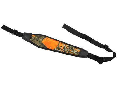 """GrovTec Gun Sling, Padded, True Timber Hunter Orange, 48"""" Long"""
