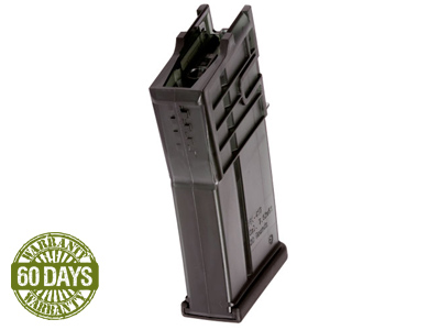 H&K  VFC 417 High-capacity Airsoft Rifle Magazine, 500 Rds
