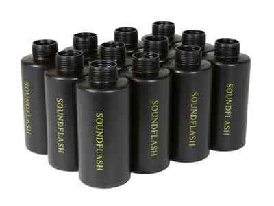 Hakkotsu Thunder B Package B Replacement Grenade Cylinder Shells, 12ct