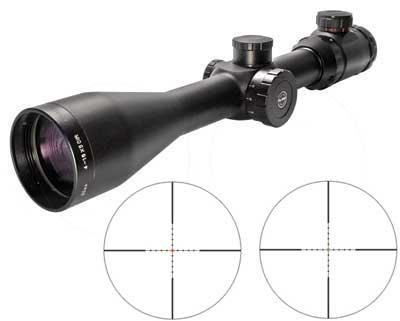 Hawke Sport Optics Eclipse 4-16x50 AO Rifle Scope, Illuminated Mil-Dot Reticle, 1/4 MOA, 30mm Tube