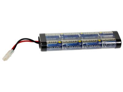 Intellect 9.6V 3800 mAh Large Battery, Large Tamiya Female Plug