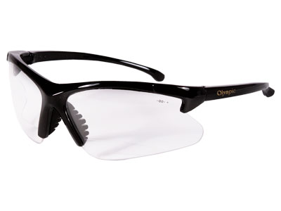 Jackson Safety Olympic Clear Lens Shooting  Glasses/+2.5 Power