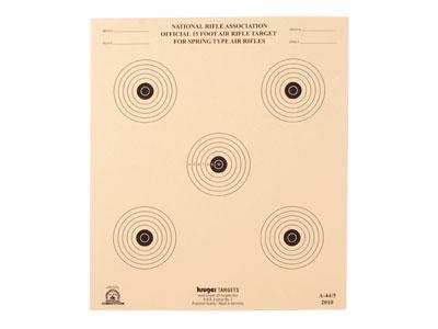"""Kruger NRA 15 ft BB Gun Target, 10""""x12"""", 100ct"""